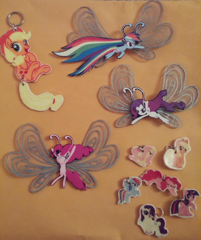 MLP Keychains for Sale by benybing