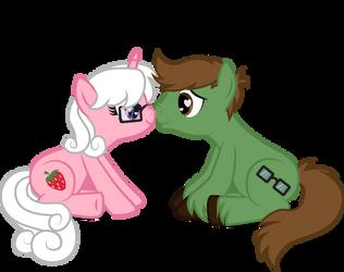 Richard and Lauren Pony by benybing