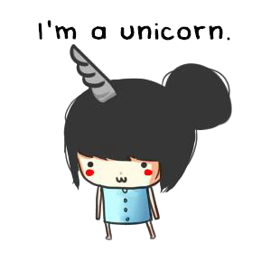 I'mAUnicorn-PNG by SwaagEditions