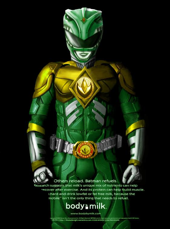 green ranger concept by EyeofSauron