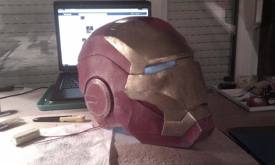any tips making a foam iron man helmet