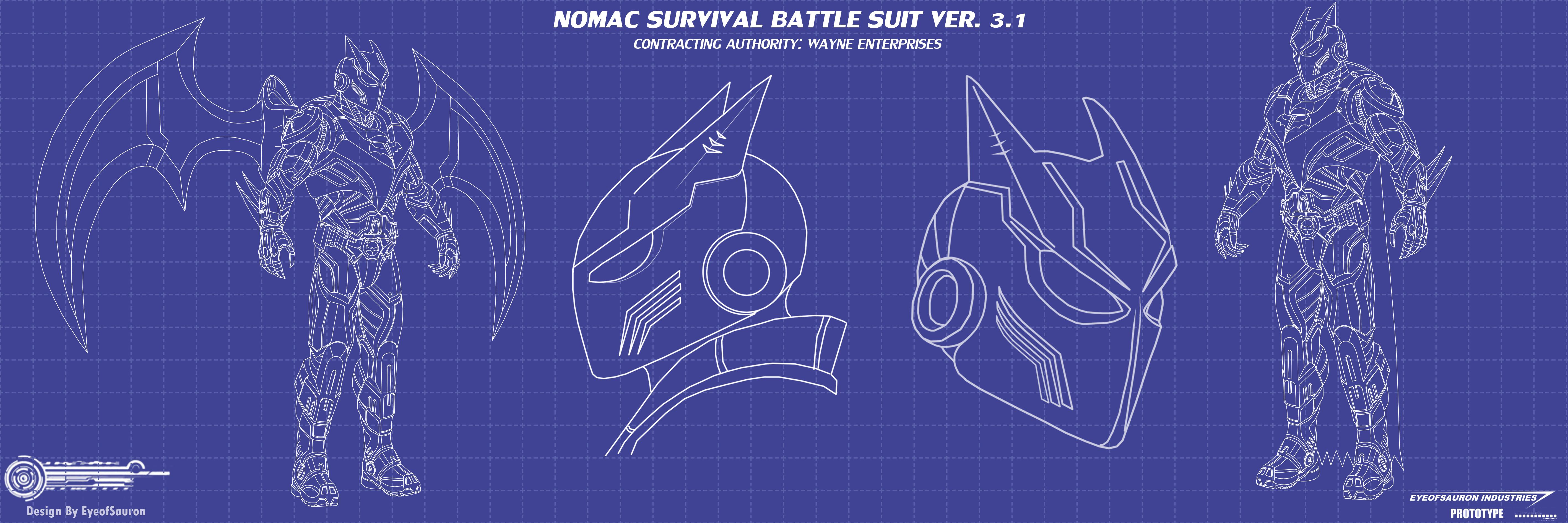 batsuit blueprints