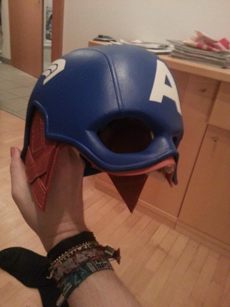 Captain america helmet wip 1 by eyeofsauron on deviantart captain america helmet wip 1 by eyeofsauron pronofoot35fo Image collections