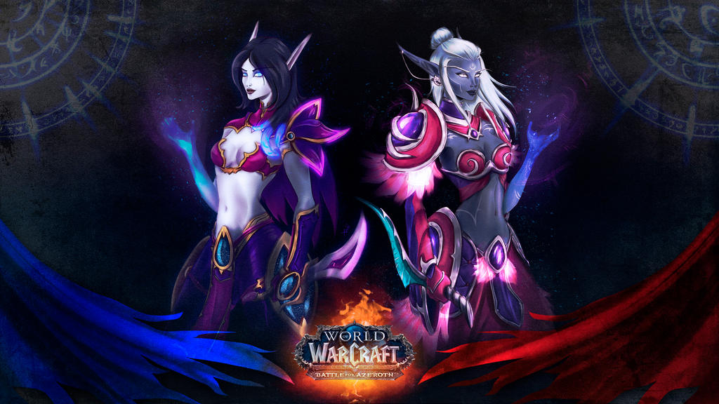 Free Wallpaper World Of Warcraft BFA By Xabiling On DeviantArt