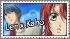 Len x Kahoko stamp by nerine-yaoi