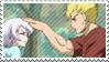 Luxus x Lisanna stamp by nerine-yaoi