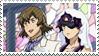 Nishijima x Minene stamp by nerine-yaoi