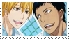 AoKise stamp 2 by nerine-yaoi