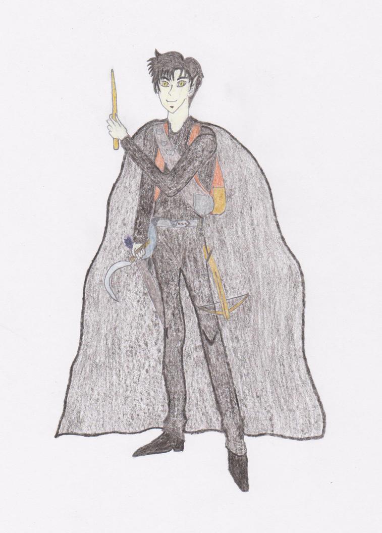 Eliel Wraithshadow by Meleshira