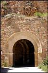 Rampart door - Canyete - Cuenca - Spain by Rubengda