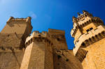 Castle of Olite - Towers