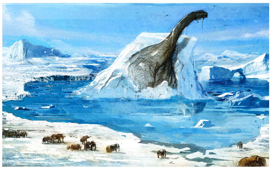 argentinosaurus on the rocks by theabones on deviantart