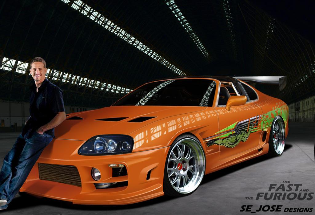Toyota Supra Fast and Furious Replica