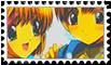 Stamp Sakura x Shaoran by ScarletSkyMisa