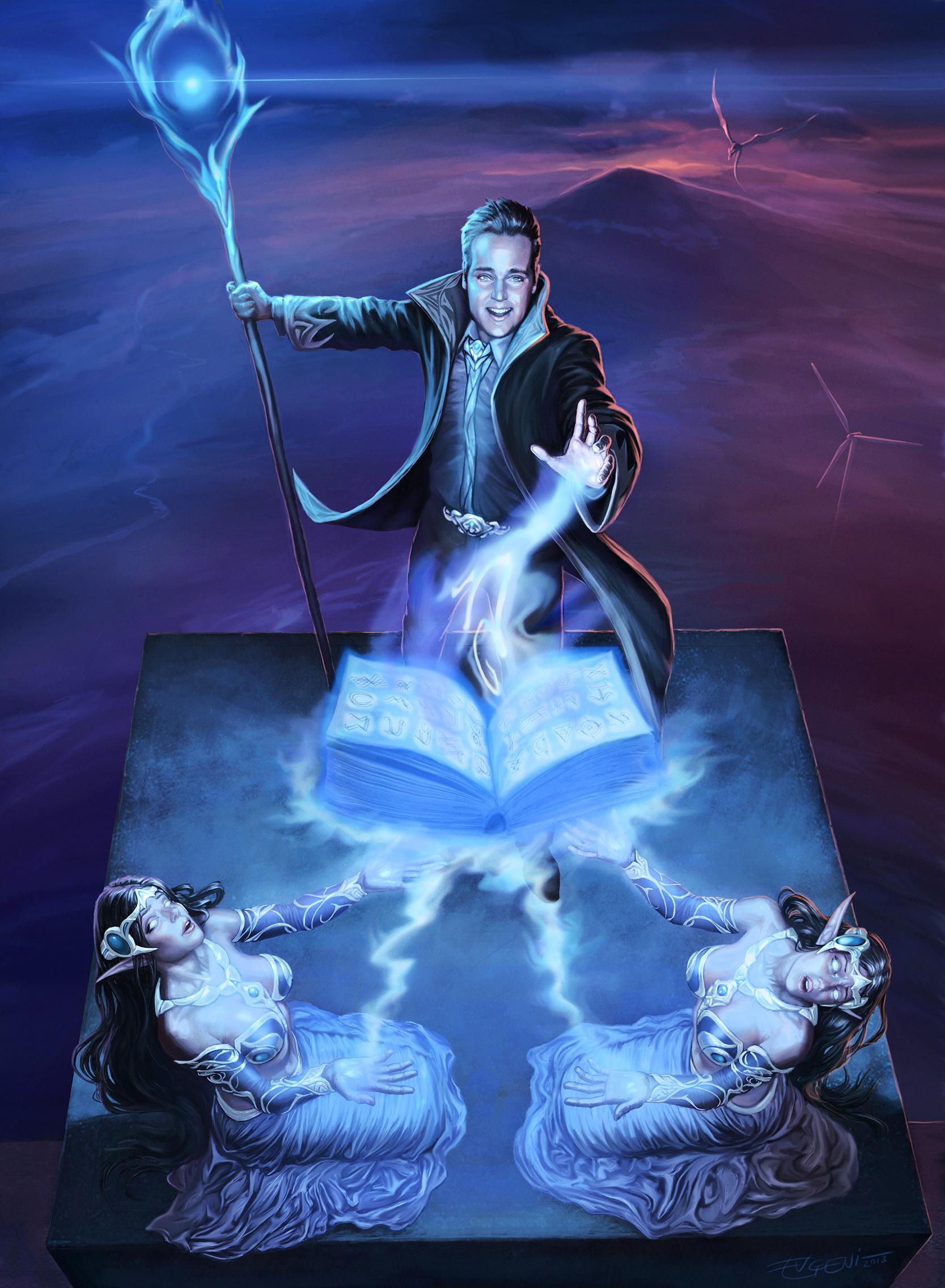 young wizard by evgenihristov on deviantart