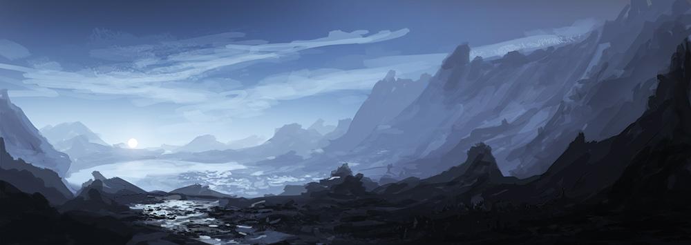 Landscape by EmilLarsson