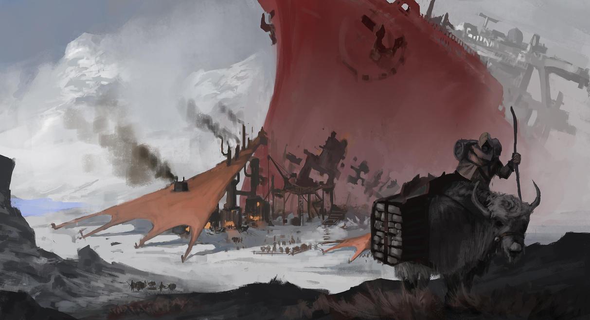 Ship by EmilLarsson