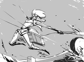 sketch120613 flesh cutter by raysagun
