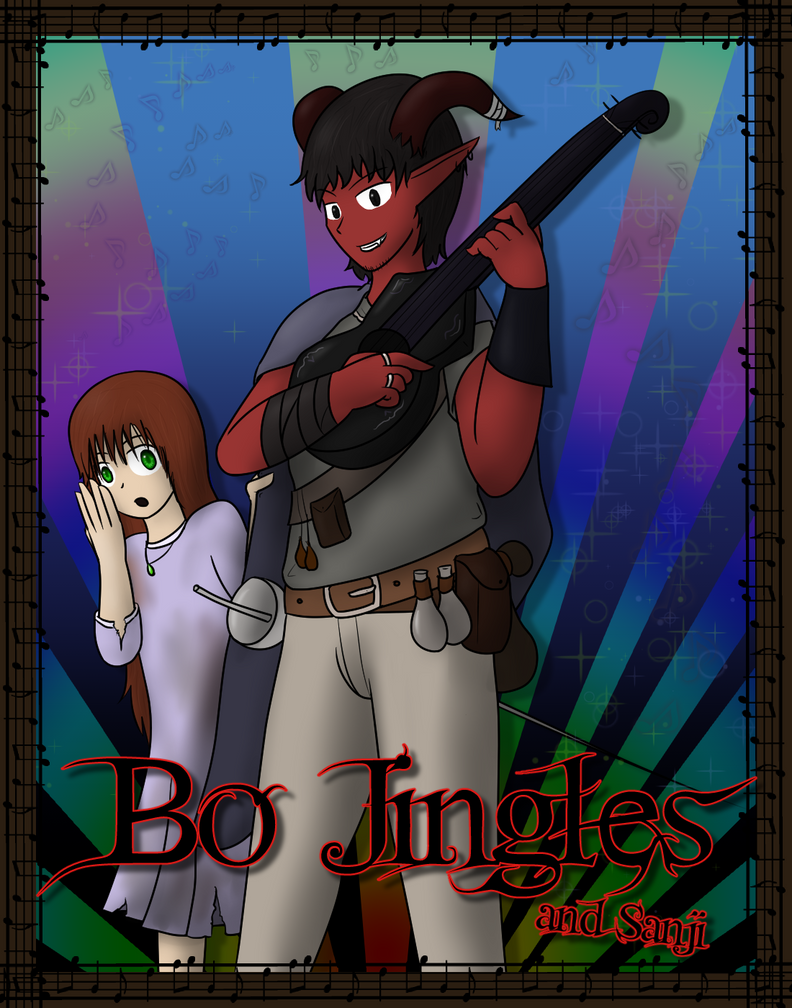 Bo Jingles And Sanji - Heroes and Halfwits by TomeOfAnnwn