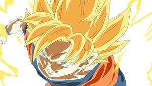 Goku ssj by DBKAI