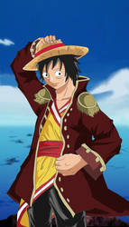 Adult Luffy by DBKAI