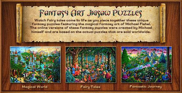 Fantasy Jigsaw Puzzle By Flashdo Deviantart – Dibujos Para Colorear