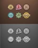 Web Badges by flashdo