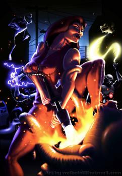 Alien Storm by Sega