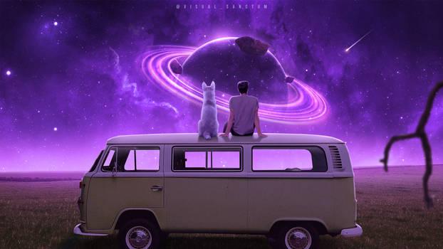 Distant Worlds - Photoshop Art