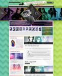 Nina Dobrev WordPress Theme