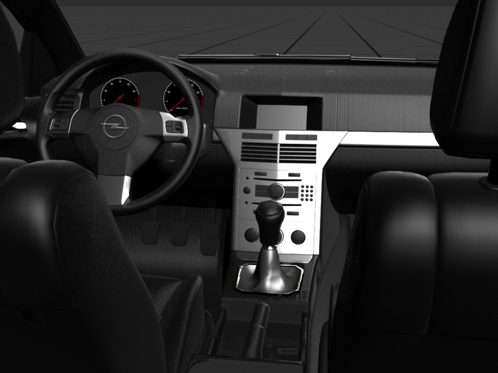 Opel Astra Interior Test by prox3h on DeviantArt