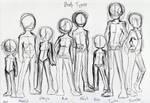 Deamon Body Types