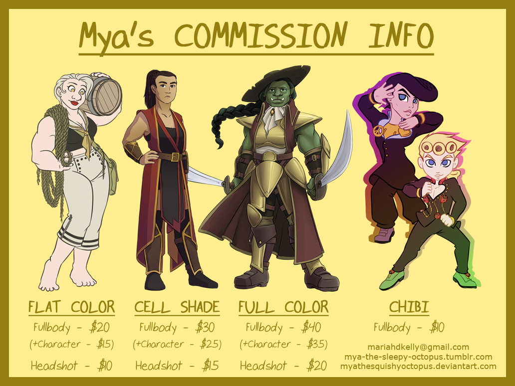 2017 Commision Info by MyaTheSquishyOctopus