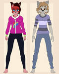 The Twins Reference Sheet by TheVisionaryDiva