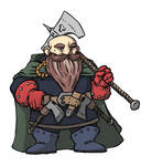 Dwarf fighter - RPG character illustration