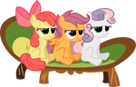 CUTIE MARK CRUSADERS LOOKS OF DISAPPROVAL, YAY!