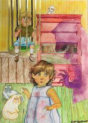 Hansel and Gretel by kapumati