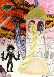 Rapunzel by kapumati