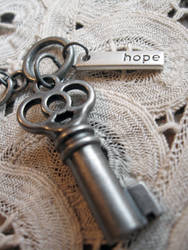 Key Of Hope Bracelet by candycrack