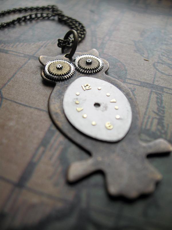 Clockwork Owl by candycrack