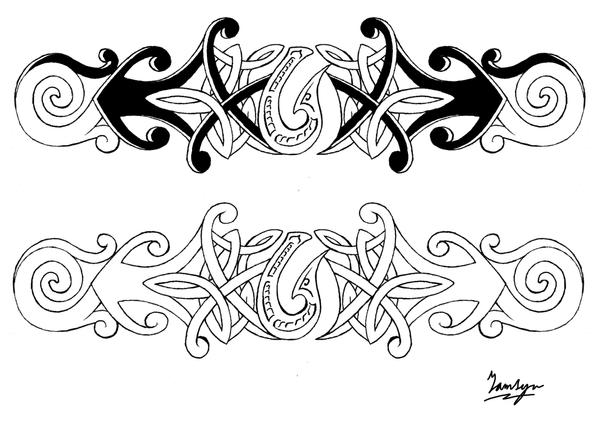Tattoo Design MaoriCeltic by shadowphoegon on deviantART
