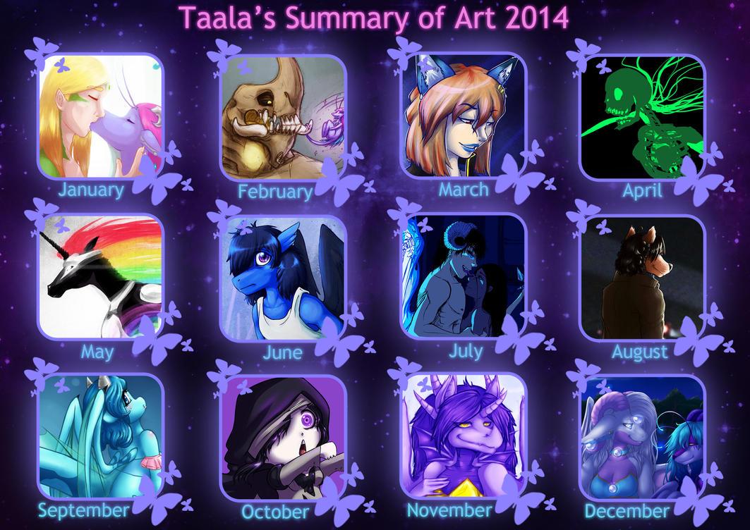 Taala-Summary-of-Art-2014 by taalaruhun