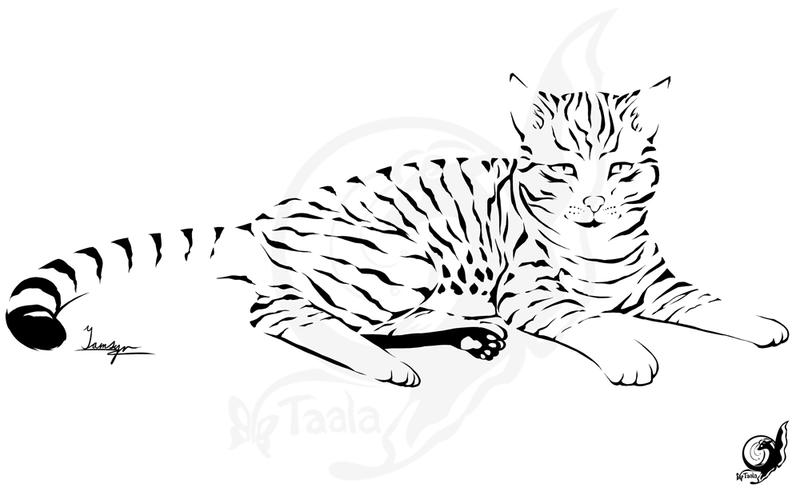 Coda - Kitty Tattoo by taalaruhun