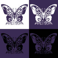 Amethrym Logo and Watermark