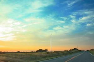 Sunset in Missouri by blankearthdesign