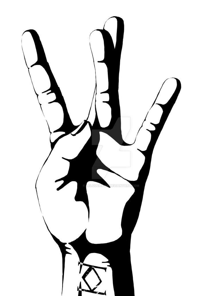 west side hand double sigma by lelouch9 28 on deviantart rh deviantart com Westside Barbell Wallpaper Saints Row Westside Rollerz