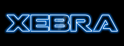 Xebra Neon Sign by lelouch9-28