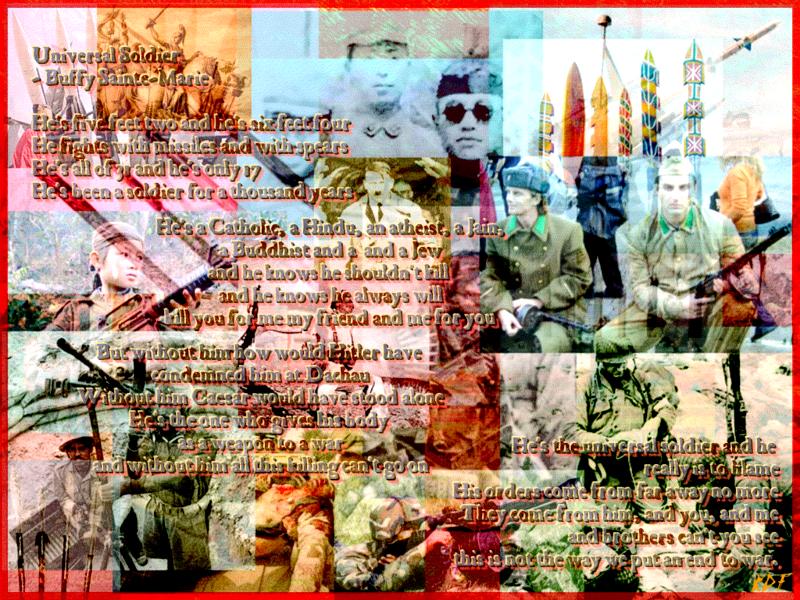 Universal Soldier by reddartfrog