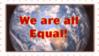 All Equal Stamp by reddartfrog