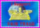 Fair Trade stamp by reddartfrog